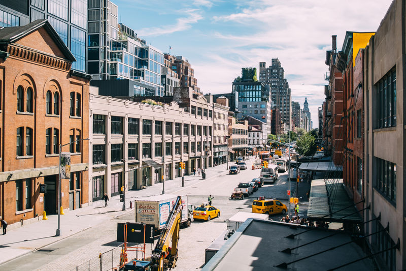 Meatpacking District New York City Road City Life Cityscape City Street Outdoors Street