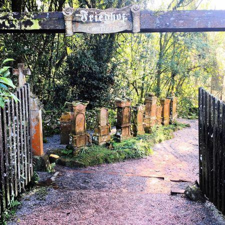 Cemetery Cemetery Entrance Cemetery Gates Brazil Nova Petrópolis Serra Gaúcha Rio Grande Do Sul