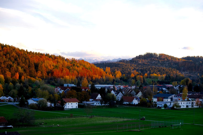 Autumn Landscape Scenics - Nature Building Exterior Outdoors Field Nature Architecture Schongau Myhometown Pfaffenwinkel Oberbayern