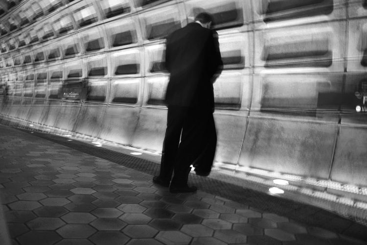 Abstract Architecture Art Let's Go. Together. Metro Motion Blur Public Public Transportation Street Photography Streetphoto_bw Streetphotography Stress Subway Washington, D. C. 17.62° Streetwise Photography