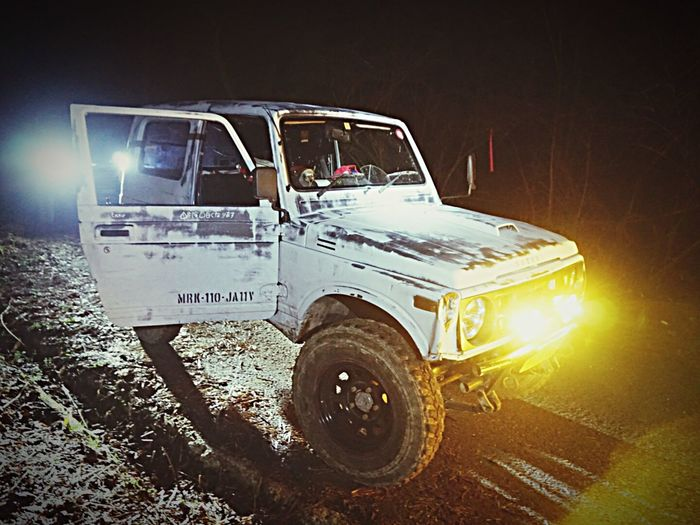 Transportation Mode Of Transport Land Vehicle Off-road Vehicle No People 4x4 Outdoors Tire Night