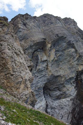 Gemmiweg - Leukerbad - Wallis - Schweiz Beauty In Nature Famous Place Gemmi Gemmiwand Geology Leukerbad Mountain Nature Outdoors Rock Rock - Object Rock Formation Schweiz Swiss Alps Switzerland Tourism Tranquility Travel Destinations Wallis