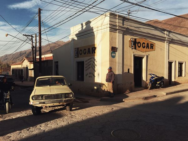 Miles Away Tilcara Tilcara, Jujuy. Jujuy Argentina Remote Village Architecture Building Exterior Street Sunlight Road Car Sunset Lifestyles Traveling Discovering Explore The Street Photographer