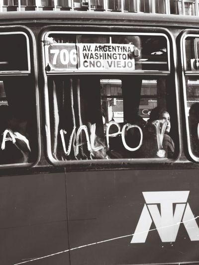 Valpo! Eye4black&white  Streetphoto_bw FuerzaValpo! Valparaíso