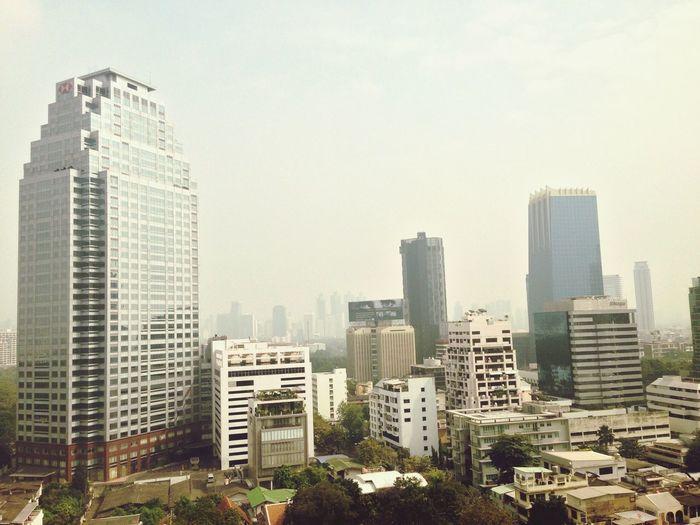 Bangkok Thailand Urban Landscape Heatwave