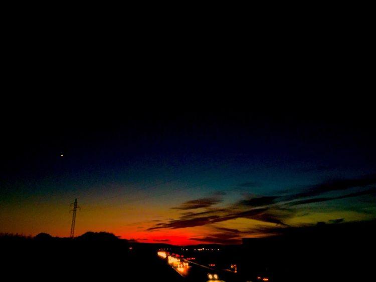 Outdoors Sunset Beauty In Nature Nature Scenics Sky Night