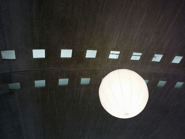 Lighting at Paris Charles De Gaulle Airport. · France Cdg Ceiling Interior Design Light Light Installation Light Bulb Modern Composition Up