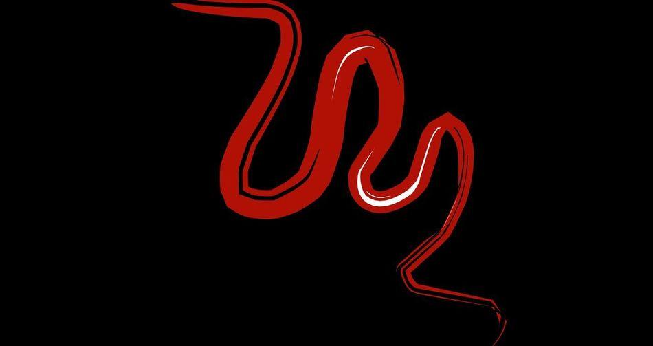 Red symbol on