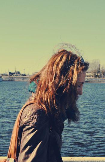 Portrait JustMe Girl Sea
