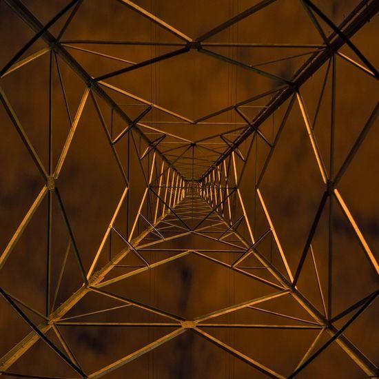 Willebroek Lookingup Night Lights Light Pollution Electricity