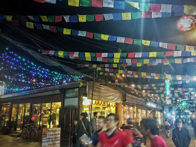 Night City Walking Around Outdoors Goodvibes Chilly Night Multi Colored Illuminated Travelphotography Thamel Street Nightlights Nightlife Kathmandu, Nepal Indoors  Real People Men People Adult Adults Only