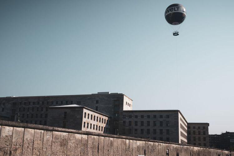 balloon above