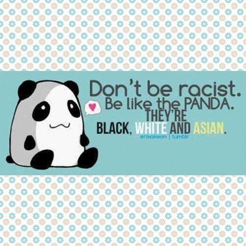 ✌😎 Noracism Fight The Racism Uguali Equality Black Blackandwhite Blackandwhiteandredandyellow Colori Colours Panda Pandathebest Onlysmile White Red Yellow