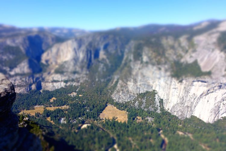 Mountain Beauty In Nature Environment Scenics - Nature Tranquil Scene Tranquility Nature Landscape Mountain Range No People Sky Plant Day Rock Non-urban Scene Tree Outdoors Selective Focus Rock Formation Rock - Object Formation Mountain Peak Yosemite National Park