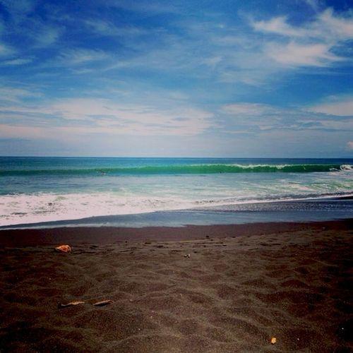 Beach Ocean Blacksand Summertime Wanderlust Puravida Costa Rica Playahermosa Surf