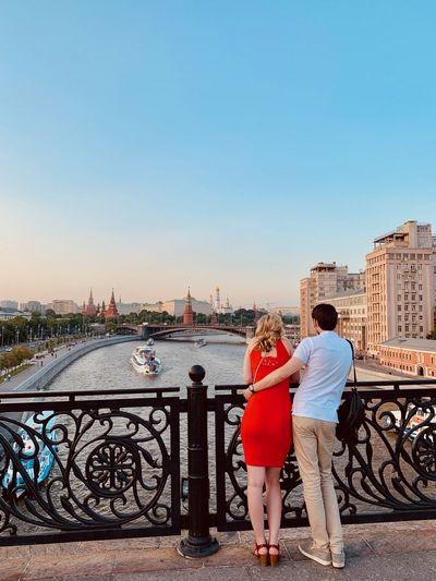 Moscow Architecture City Moscow Life City Life Moscow River Riverside River View River Real People Two People Women Building Exterior Full Length Togetherness Outdoors Positive Emotion Bonding Cityscape Couple - Relationship Adult Love Tourist Tourism Enjoying The View Couple Travel Destinations Courtship Romantic The Mobile Photographer - 2019 EyeEm Awards The Traveler - 2019 EyeEm Awards The Street Photographer - 2019 EyeEm Awards