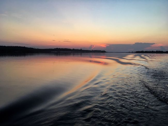 Sunset Scenics Beauty In Nature Nature Tranquil Scene Water Tranquility Sky Reflection No People Outdoors Sea Idyllic Silhouette Beach Clear Sky Day EyeEmNewHere