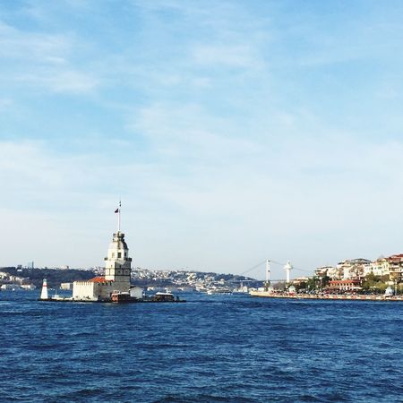 Bridge Sea Ferry Bosphorus Enjoying Life Enjoying The Sun Enjoying The Sun Architecture Tower Historical Building