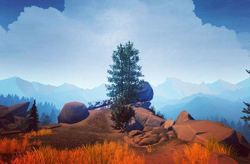 Firewatch Game Screenshot Gaming Videogames Games Game Nerd Picoftheday Videogame  Landscape Photography Lovely Lovelyday Xbox Xbox360 Instagram Travel Traveldiaries Instagamer Instapic Lifeisgood Herewego PCGaming IGN kotaku pcgamer geek amazing captures treeoflife