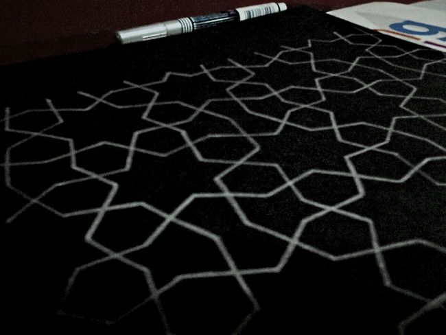 Dancing of the stars.. Islamic Geometry Art, Drawing, Creativity