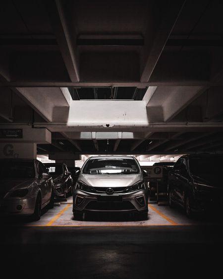 Illuminated car