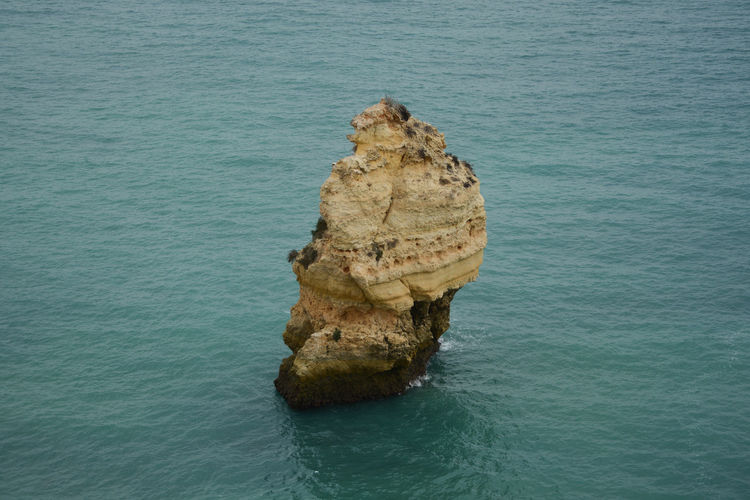 Rock Formation In Sea