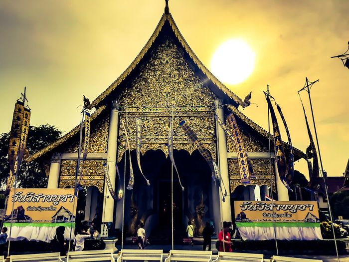 Built Structure Spirituality Travel Destinations Building Exterior Pagoda 😀 Changmai