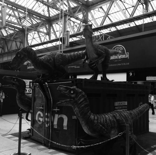 They're coming! Dinosaur Dinosaurs Jurassicpark Waterloo Station EyeEm Nature Lover