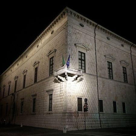 Palazzo Diamanti, Ferrara Ferrara Palazzo Dei Diamanti Night Photography