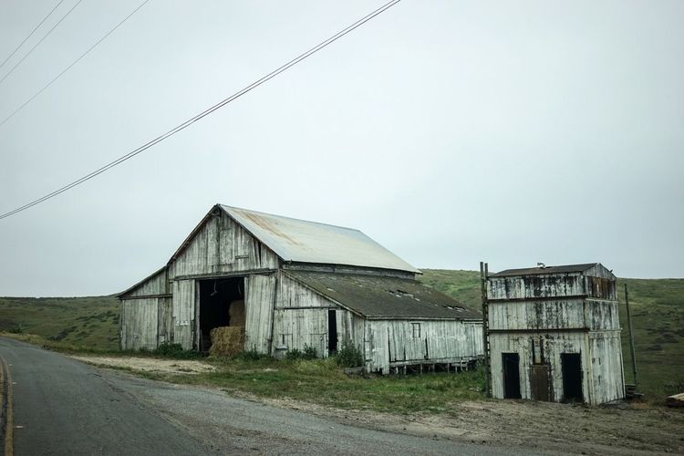 A short story about Point Reyes in California Lonley Barn nFarm mFarm Life e Landscape Landscape_photography Rough Tranquil Scene Melancholic Landscapes Outdoors Landscape_Collection Countryside The Architect - 2016 EyeEm Awards