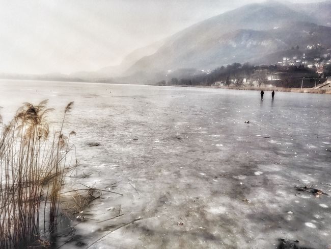 icy lake. Winter Nature Cold Temperature Frozen Ice Tranquility Beauty In Nature Outdoors Frozen Lake Scenics Landscape From My Point Of View Walking Around Eye4photography  EyeEm Nature Lover in Brianza