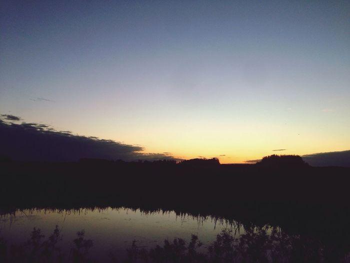 Saskatchewan Sunset Prairie First Eyeem Photo
