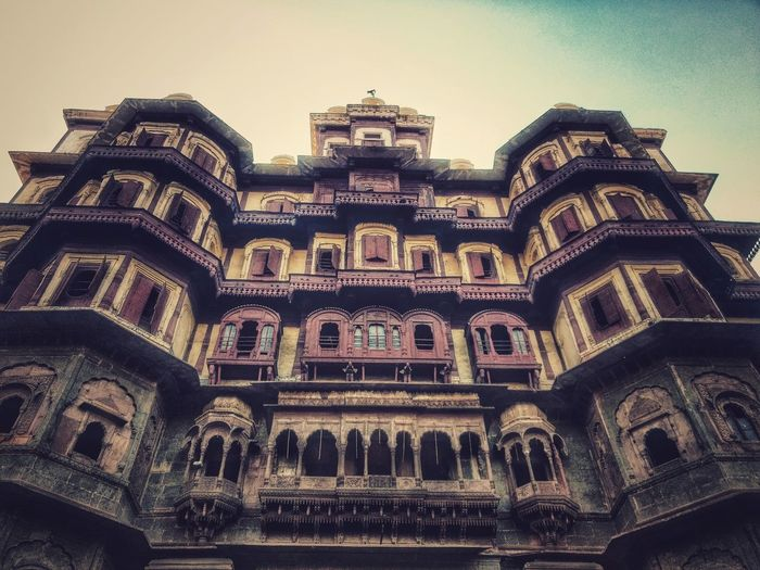 Captured at Rajwada Indore, Madhya Pradesh, India. Architecture Built Structure History Sky Rajwada Rajwadapalace Indore India EyeEmNewHere The Architect - 2017 EyeEm Awards