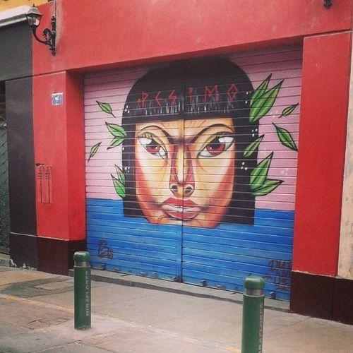 El arte de las calles de Miraflores Feliz Aniversario @munimiraflores Igersperu City Lima