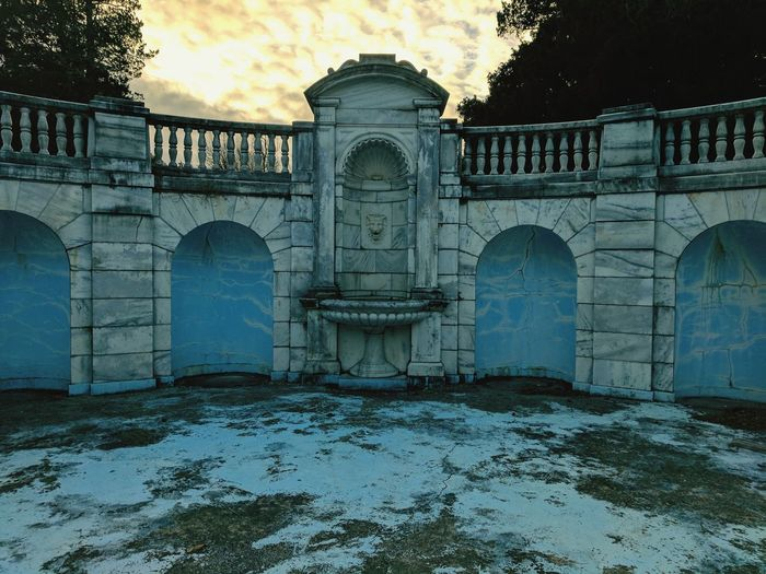 Decay Architecture Outdoors Water Arch No People Travel Destinations Built Structure Sad Needs Love Arts Culture And Entertainment