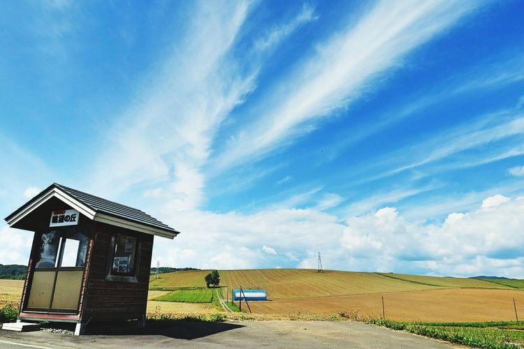 眺望の丘〜 眺望の丘 剣淵町 映画 じんじん EyeEm Selects Architecture Built Structure Building Exterior Cloud - Sky Sky Day No People Business Finance And Industry Sand Outdoors Beach Politics And Government