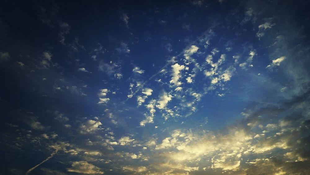 7月も、あと少し。 LastWeekend  Clouds And Sky 夕暮れどき
