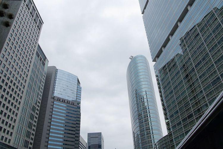 Built Structure Building Exterior Architecture Building Sky Office Building Exterior Low Angle View