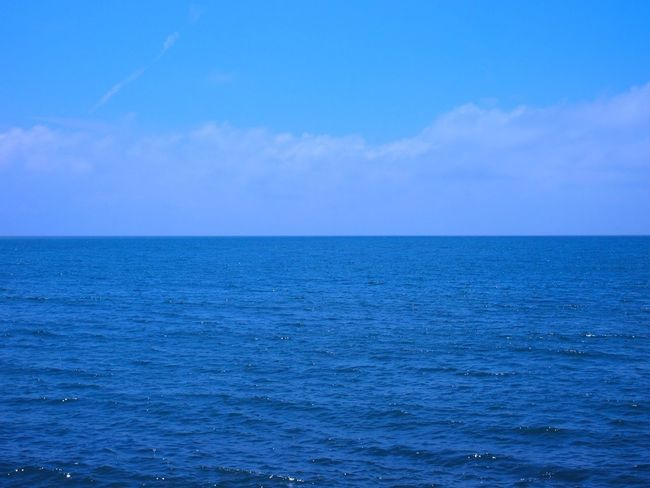 Landscape Sky And Sea Calm #nofilter#noedit