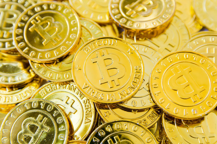 Business Currency Electronic Wallet Backgrounds Bitcoin Coins Cryptocurrency Digital Full Frame Gold Gold Colored Large Group Of Objects Metal Pattern Physical Geography Trade,
