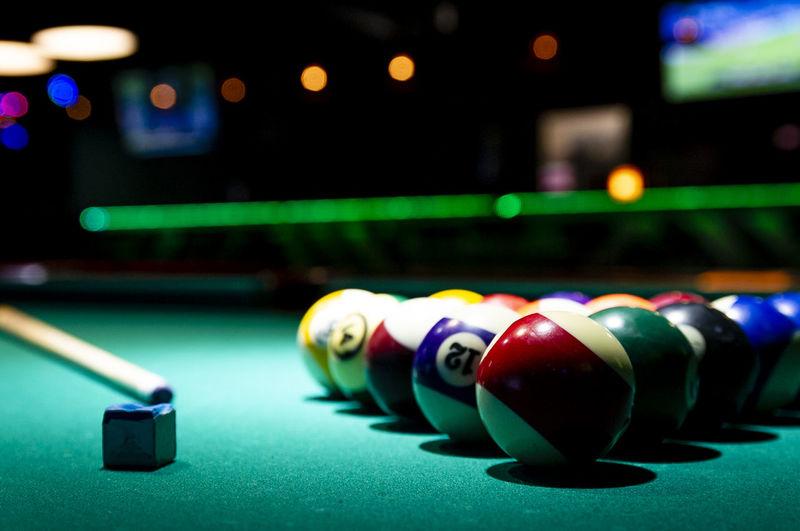 pool Billard Sport Pool Hall Casino Game Of Chance Match - Sport Las Vegas