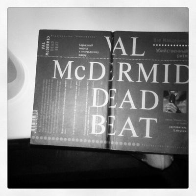 """Book of the day: Val McDermid """"Dead Beat"""" Bookoftheday Book S."""