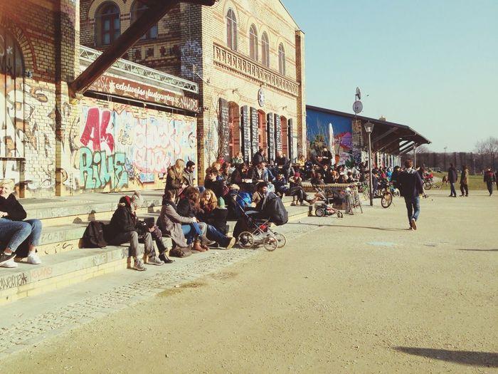 Tackingcoffee Berlin Görlitzerpark Sonnertag Sunny Day