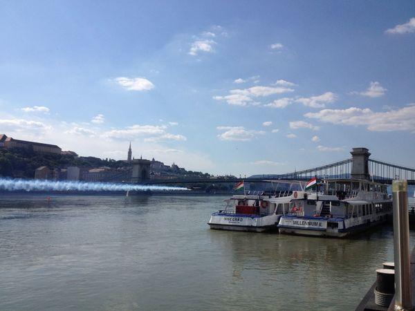 Buda Budapest Budapest, Hungary Hungary Lánchíd Red Bull Air Race Red Bull Air Show Summer Summertime