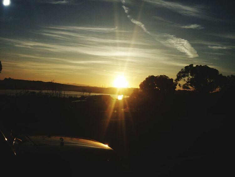 Early Morning Sunrise California Love Caliskies BeautifulSunRise Cruising Sunshine