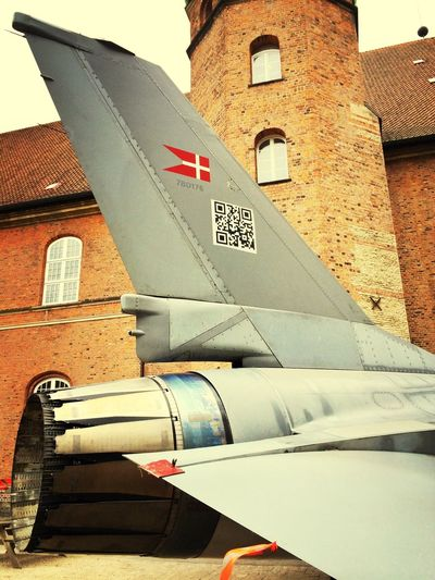 Fighter Jet F-16 Airplane Visiting Exhibition