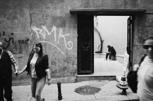 Streetphotography Black & White Taksim Istiklal Caddesi Istanbul Turkey The Street Photographer - 2015 EyeEm Awards