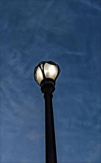 Street Light Early Evening Light Lampost Lampost And Sky Lighting Equipment Street Lamp Street Light