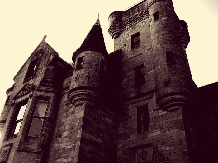 Castle Gothic Blackandwhite Architecture