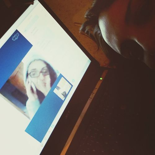 Thankyou Bestfriends Are Always Here!! Near And Far Skype Time. Keep Smiling